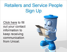 Retailers and Service People Sign Up